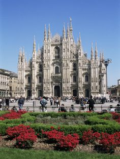 Piazza Del Duomo, Milan, Italy Photographic Print by Hans Peter Merten at AllPosters.com