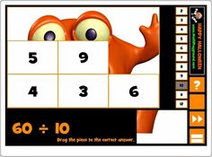 """""""Halloween puzzle division"""" Halloween Puzzles, Halloween 5, Maths, Holiday Decor, Mental Calculation, Halloween Games, Interactive Activities, Teaching Resources"""