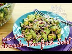 Low-Carb Avocado-Thunfisch-Salat mit Gurke - Erfrischend lecker