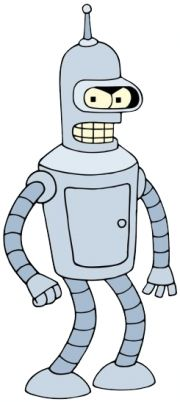 Bender (Bending Rodriguez) from Futurama