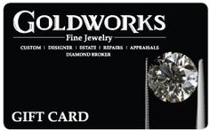 Check out GoldWorks' Gift Card! Diamond Earrings, Check, Cards, Gifts, Jewelry, Jewellery Making, Jewelery, Jewlery, Jewels