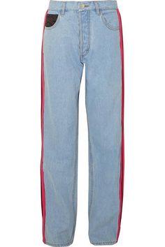 Striped Wide-legJeans