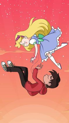 wallpaper marco y star butterfly - Best of Wallpapers for Andriod and ios Cute Cartoon Wallpapers, Animes Wallpapers, Cartoon Pics, Tom Cartoon, Dipper E Mabel, Star E Marco, Star Force, Princess Drawings, Animation