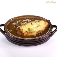 Clinton Kelly's #FrenchOnionSoup! #TheChew