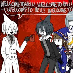 WELCOME TO HELL >>> WATGBS Sal, Red Sea, crew (Great Wadanohara art.)