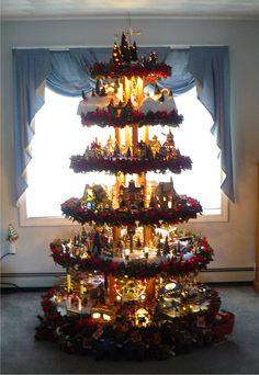 Christmas Village Tree - Littleton, MA, WCVB.com's u local Photo - u local, Your Boston Photos & Videos