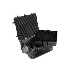 Large Pelicase 1690 is a large size waterproof case that offers a fantastic spacious internal as well as great depth, making the case ideal for storing equipment to suit all purposes.