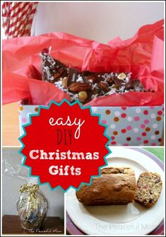 Save money this Christmas! Make one (or all!) of these Easy DIY Christmas Gifts that don't look cheap! - from ThePeacefulMom.com