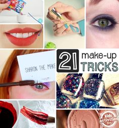 Moms these are time savers.  All the make up hacks (tricks and tips) you didnt know you were missing in one place