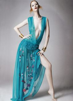 Alana Zimmer for Muse 25, Spring 2011 #editorial #fashion_photography #turquoise