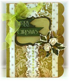 Kaisercraft Christmas Carol and Santa's List Paper Collection - Mini Album, Card, BTP Creations
