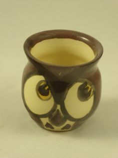 small owl pot/ornament by AlecPDavis on Etsy