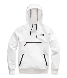 The North Face Women's Tekno Pullover Hoodie Jacket ( Pullover Hoodie, Hoodie Jacket, Mens Nike Jacket, North Face Women, The North Face, Trekking Outfit, North Face Outfits, Stylish Hoodies, White Hoodie