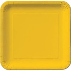 yellow paper plates - Google Search