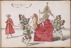 theatre costume designs by daniel rabel 1620s