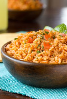 If you've ever attempted your favorite Mexican restaurant's rice at home and failed, raise your hand. Well, you can put it down now.  Easily made vegan by subbing vegetable stock for chicken stock
