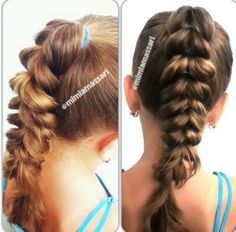 Pull Through Braid for Casual Day Look