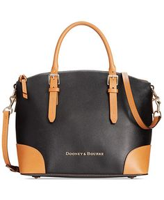 Dooney & Bourke Claremont Domed Satchel | macys.com