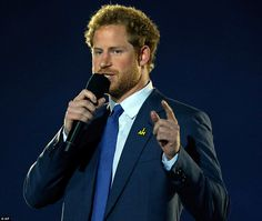 Prince Harry gave an emotional speech about the sacrifices soldiers make on the battlefiel...