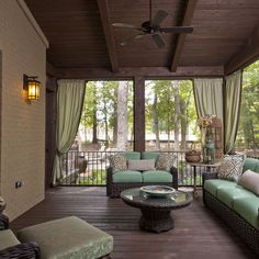 Traditional Porch - traditional - porch - other metro
