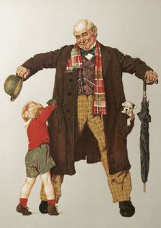 Child's Surprise, by Norman Rockwell, 1976
