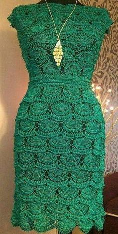 Cute and Stylish Free Crochet Dresses Pattern Design Ideas - Page 37 of 37 - Daily Crochet! Crochet Dress Girl, Crochet Bodycon Dresses, Knit Dress, Clothing Patterns, Dress Patterns, Crochet Cardigan Pattern, Crochet Patterns For Beginners, Simple Dresses, Free Crochet