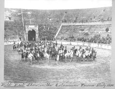 Buffalo Bill's Wild West Show, Verona, Italy, 1890