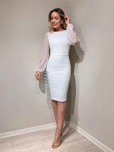 May's Exclusive Cheap Civil Wedding Dress Closet by May, … – Wedding Suite Civil Wedding Dresses, Wedding Dresses For Girls, Jumpsuit Dress, Dress Up, Stylish Dresses, Formal Dresses, Engagement Dresses, White Midi Dress, Little White Dresses