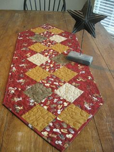 The Cowboy Quilted Table Runner