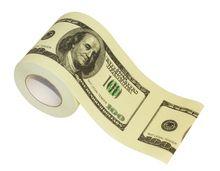 $100 Dollar Bill Toilet Tissue ( 2 Rolls )