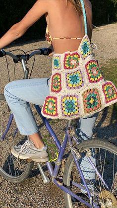 Mode Crochet, Knit Crochet, Hippie Crochet, Crochet Shirt, Crochet Clothes, Diy Clothes, Summer Clothes, Summer Outfits, Crochet Designs