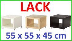 IKEA nočný stolík na kolieskach LACK 3 farby FVAT | KúpSiTo.sk