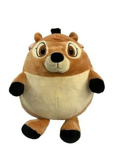 "Disney - Large Round Plush  Soft Toy 15"" Bambi Walt Disney  Rare  #WaltDisney Jellycat, Build A Bear, Bambi, Walt Disney, Plush, Toys, Fictional Characters, Ideas"