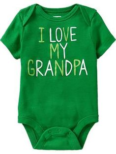 Humor Graphic Bodysuits for Baby | Old Navy - for Dad's birthday