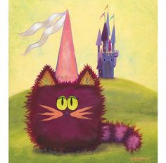 Princess Kitty  Cranky Cat CollectionTM by CrankyCats on Etsy