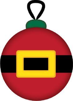 Christmas Ornament Santa cut file