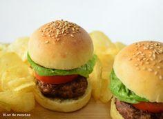 Bloc de recetas: Hamburguesa casera