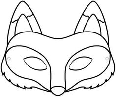Coloriage Masque Animaux 4 on with HD Resolution pixels is Best Fresh Home Design Ideas and Interior Decorating Architecture of The Years 2019 Animal Mask Templates, Printable Animal Masks, Unicorn Printables, Fox Coloring Page, Free Coloring Pages, Printable Coloring, Wolf Maske, Fox Mask, Maila