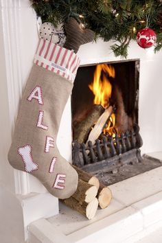 Luxury Personalised Christmas Stocking For Dogs, £47.50