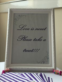 Weddings, Love, Frame, Home Decor, Amor, Picture Frame, Decoration Home, Room Decor, Wedding
