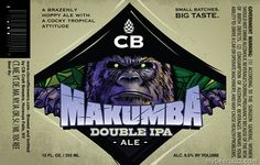 mybeerbuzz.com - Bringing Good Beers & Good People Together...: CB Craft Brewers - Makumba Double IPA