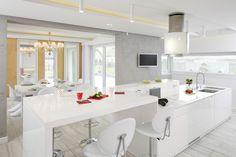 Wyspa w kuchni: piękne zdjęcia z polskich domów  - zdjęcie numer 1