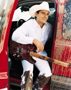 Brad Paisley mmmm. So ready to see him in concert again!