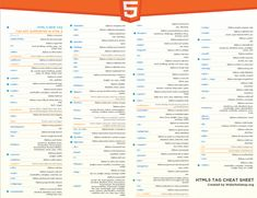 html cheat sheet website \ html cheat sheet ` html cheat sheet web design ` html cheat sheet free printable ` html cheat sheet basic ` html cheat sheet 2019 ` html cheat sheet website ` html cheat sheet tips Jquery Cheat Sheet, Javascript Cheat Sheet, Computer Coding, Computer Programming, Computer Science, Programming Languages, Programming Tools, Data Science, Learn Html
