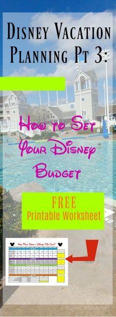 Disney World Planning Pt 3: Setting a Budget for Disney
