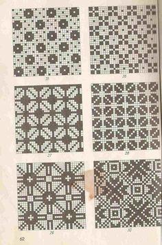Estonian patterns - That's It Fair Isle Knitting Patterns, Knitting Charts, Knitting Stitches, Knit Patterns, Cross Stitch Patterns, Cross Stitch Embroidery, Crochet Chart, Filet Crochet, Mittens Pattern