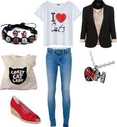 """""""Hazza' Style"""" by agathestylan ❤ liked on Polyvore"""