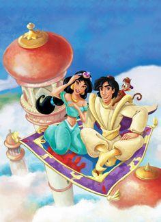 Jasmine & Aladdin <3