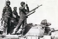 Iraqi Type 69-II presumably from Iran-Iraq War era.
