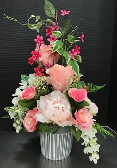 Pink Spring Bouquet by Andrea